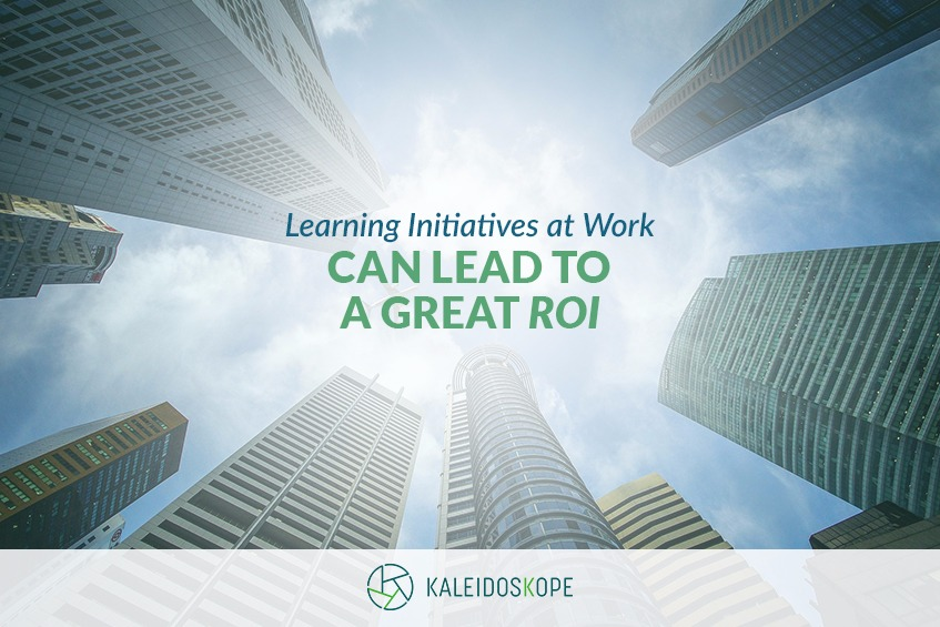 Learning Initiatives at Work CAN Lead to A Great ROI. Here's How.