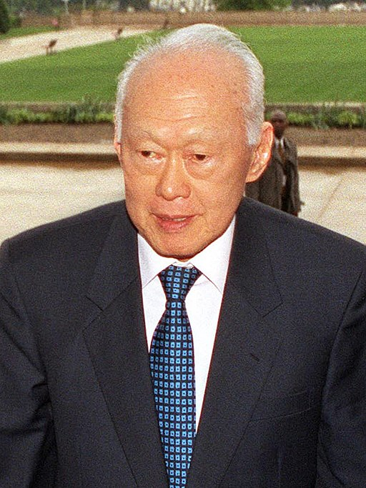 Lee Kuan Yew: A leader without the vision, to strive to improve things, is no good.